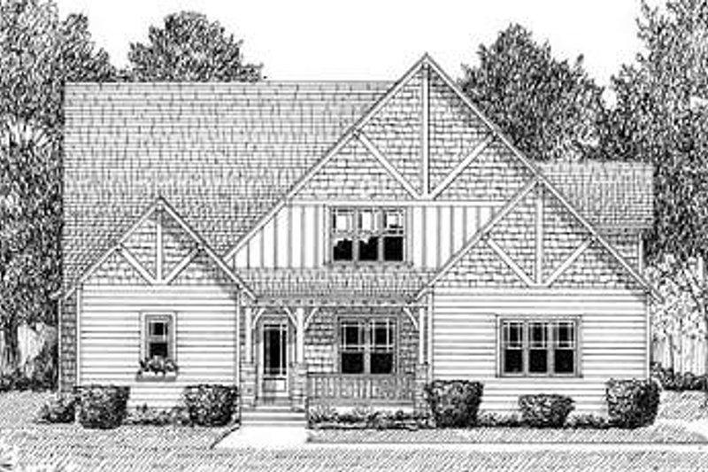 Craftsman Exterior - Other Elevation Plan #413-138 - Houseplans.com