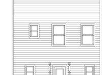 House Plan Design - Contemporary Exterior - Rear Elevation Plan #932-324