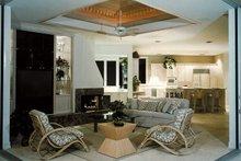 Architectural House Design - Mediterranean Exterior - Covered Porch Plan #930-101