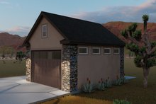 Dream House Plan - Country Exterior - Front Elevation Plan #1060-90