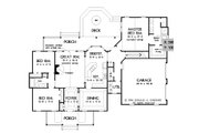 Farmhouse Style House Plan - 3 Beds 2.5 Baths 1929 Sq/Ft Plan #929-1046 Floor Plan - Main Floor Plan