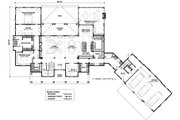 Country Style House Plan - 4 Beds 4 Baths 5274 Sq/Ft Plan #928-307 Floor Plan - Main Floor Plan