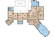 European Style House Plan - 4 Beds 4.5 Baths 6554 Sq/Ft Plan #923-69 Floor Plan - Main Floor