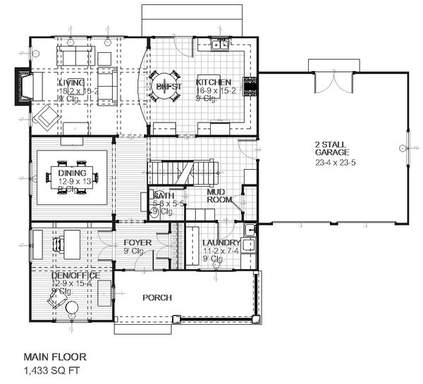 Cape Cod house plan