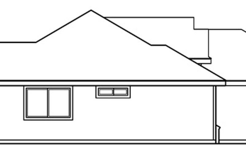 Modern Exterior - Other Elevation Plan #124-478 - Houseplans.com