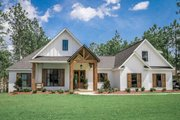 Modern Style House Plan - 4 Beds 2.5 Baths 2373 Sq/Ft Plan #430-184 Exterior - Front Elevation
