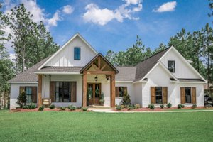 Home Plan - Modern Exterior - Front Elevation Plan #430-184