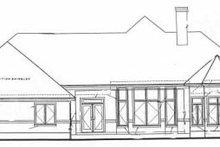 Home Plan - European Exterior - Rear Elevation Plan #20-129
