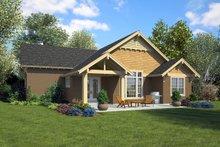 Ranch Exterior - Rear Elevation Plan #48-949