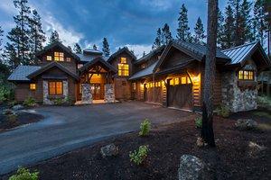 Home Plan - Craftsman style house design, elevation photo