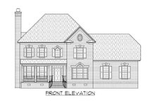 Traditional Exterior - Front Elevation Plan #1054-55