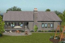 Craftsman Exterior - Rear Elevation Plan #56-699