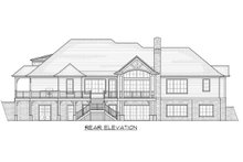 House Plan Design - Traditional Exterior - Rear Elevation Plan #1054-21