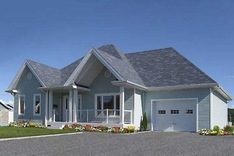 Architectural House Design - Cottage Exterior - Front Elevation Plan #23-2209