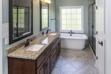 Home Plan - Craftsman Interior - Master Bathroom Plan #929-953