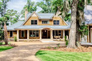 Country Exterior - Front Elevation Plan #928-320