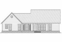 Architectural House Design - Craftsman Exterior - Rear Elevation Plan #21-247