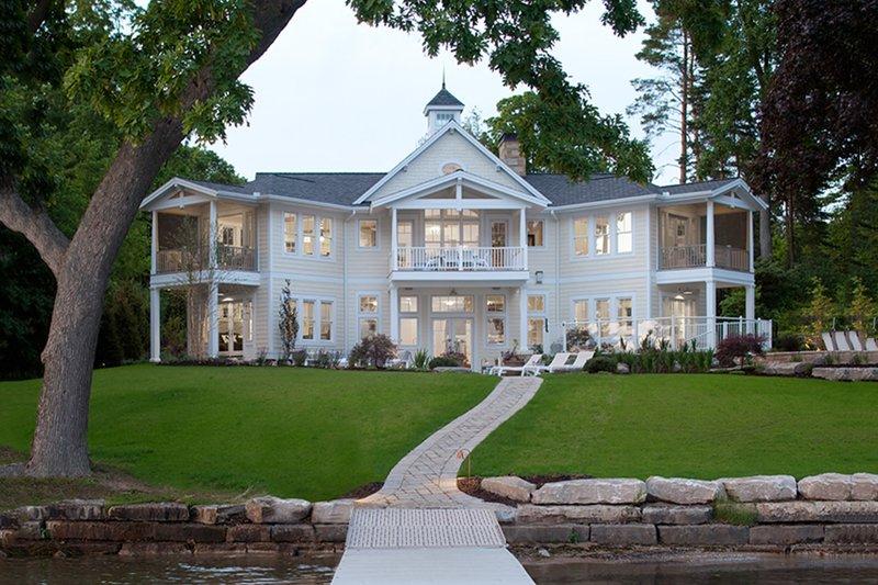 Home Plan - Craftsman Exterior - Rear Elevation Plan #928-259