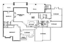 European Floor Plan - Lower Floor Plan Plan #5-445