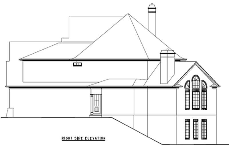 European Exterior - Other Elevation Plan #54-163 - Houseplans.com