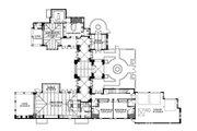 Mediterranean Style House Plan - 4 Beds 5 Baths 4761 Sq/Ft Plan #426-19