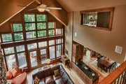 Craftsman Style House Plan - 5 Beds 3.5 Baths 4646 Sq/Ft Plan #70-1433 Interior - Family Room