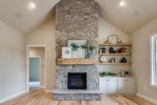 Architectural House Design - Plan 1067-1 Fireplace