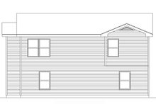 Colonial Exterior - Rear Elevation Plan #22-429