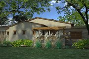 Contemporary Style House Plan - 3 Beds 3.5 Baths 3636 Sq/Ft Plan #120-188 Exterior - Other Elevation
