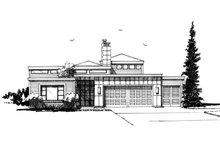 House Plan Design - Contemporary Exterior - Front Elevation Plan #942-49