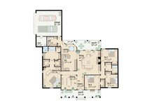 Traditional Floor Plan - Main Floor Plan Plan #36-209