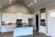 Cottage Interior - Kitchen Plan #406-9657