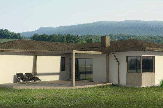 Bungalow Exterior - Front Elevation Plan #906-13