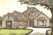 Tudor Style House Plan - 3 Beds 2 Baths 2088 Sq/Ft Plan #310-533