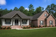 Dream House Plan - Country Exterior - Front Elevation Plan #430-176