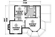 Victorian Style House Plan - 3 Beds 1 Baths 1972 Sq/Ft Plan #25-4760 Floor Plan - Upper Floor Plan