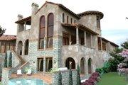 European Style House Plan - 4 Beds 4.5 Baths 4373 Sq/Ft Plan #120-177 Photo