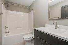Ranch Interior - Bathroom Plan #70-1497