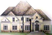 Colonial Style House Plan - 4 Beds 3 Baths 2520 Sq/Ft Plan #119-128 Photo