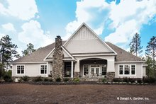 Craftsman Exterior - Rear Elevation Plan #929-24