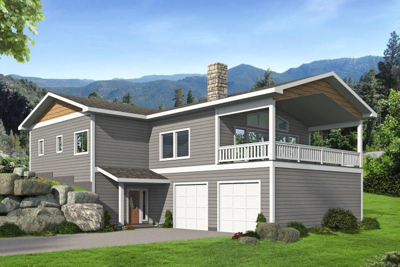 House Plan Design - Craftsman Exterior - Front Elevation Plan #117-898