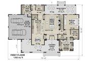 Farmhouse Style House Plan - 4 Beds 3.5 Baths 2862 Sq/Ft Plan #51-1155