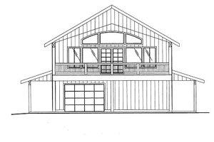 Bungalow Exterior - Front Elevation Plan #117-683
