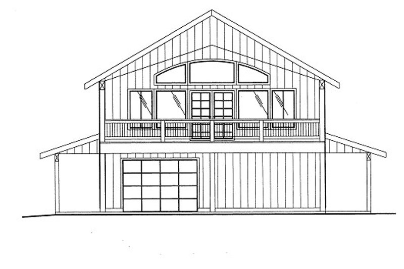 Bungalow Style House Plan - 4 Beds 3 Baths 2280 Sq/Ft Plan #117-683
