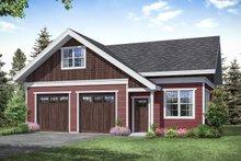 Dream House Plan - Cottage Exterior - Front Elevation Plan #124-1188