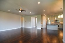 Prairie Interior - Family Room Plan #124-1065