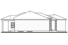 Home Plan - Contemporary Exterior - Other Elevation Plan #1073-20