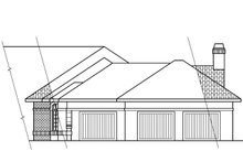 Ranch Exterior - Other Elevation Plan #124-238