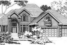 Dream House Plan - European Exterior - Front Elevation Plan #124-329