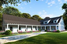 Architectural House Design - Farmhouse Exterior - Front Elevation Plan #923-104
